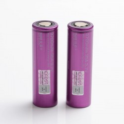 [Ships from Battery Warehouse] Authentic Efest IMR 3700mAh 35A 21700 Rechargeable Lithium Batteries - (2 PCS)