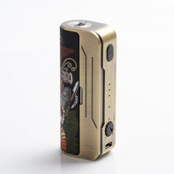 Authentic Hippovape Papua 100W VW Variable Wattage Box Mod - Gold, 3~100W, 1 x 18650 / 20700 / 21700
