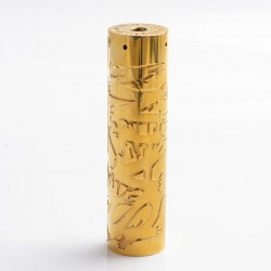 Authentic Timesvape Saint Hybrid Mechanical Mech Mod - Brass, Brass, 1 x 18650 / 20700 / 21700
