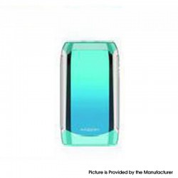 Authentic Innokin Proton Mini Ajax 120W 3400mAh TC VW Box Mod - Crystal Blue, Zinc Alloy, 0.1~3.5ohm, 6~120W