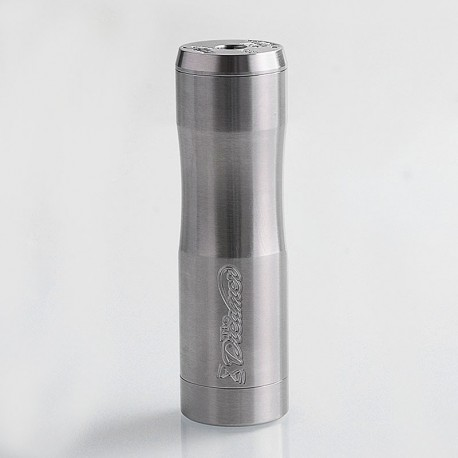 Authentic Timesvape Dreamer Hybrid Mechanical Mod - Brushed Silver, 316 Stainless Steel, 1 x 18650 / 20700 / 21700