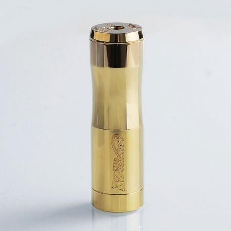 Authentic Timesvape Dreamer Hybrid Mechanical Mod - Brass, Brass, 1 x 18650 / 20700 / 21700