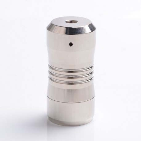 Scar Mini Style Hybrid Mechanical Mod - Silver, Stainless Steel, 1 x 18350
