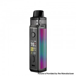 Authentic Voopoo VINCI X VW Box Mod Pod System Starter Kit - Aurora, Zinc Alloy + PCTG, 5.5ml, 0.3ohm / 0.6ohm, 5~70W, 1 x 18650
