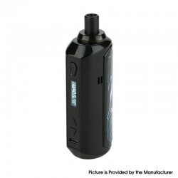 Authentic Artery Nugget AIO 40W 1500mAh VW Box Mod Pod System Starter Kit - Black, Zinc Alloy + Plastic, 2ml, 5~40W