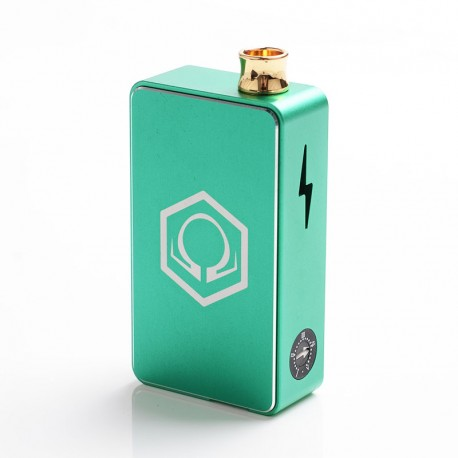 Authentic Ohm Vape AIO 42W Box Mod Pod System Starter Kit - Green, 1 x 18650