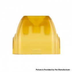 Authentic Reewape Replacement Drip Tip for Uwell Caliburn Pod Kit - Yellow, Resin, Bright Surface