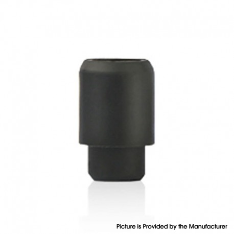 Disposable Replacement 510 Drip Tip for RDA / RTA / RDTA / Clearomizer / Sub Ohm Tank Atomizer - Black, Silicone, 17.5mm