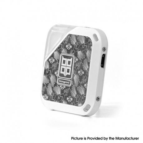 Authentic Vladdin Boqpod 400mAh Pod System Starter Kit - Silver, 1.0ml, 1.1ohm