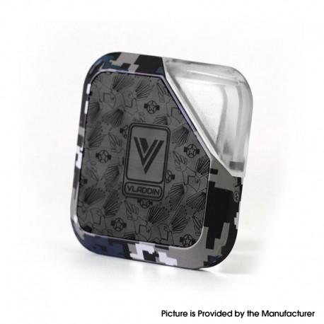 Authentic Vladdin Boqpod 400mAh Pod System Starter Kit - Digicamo Black, 1.0ml, 1.1ohm