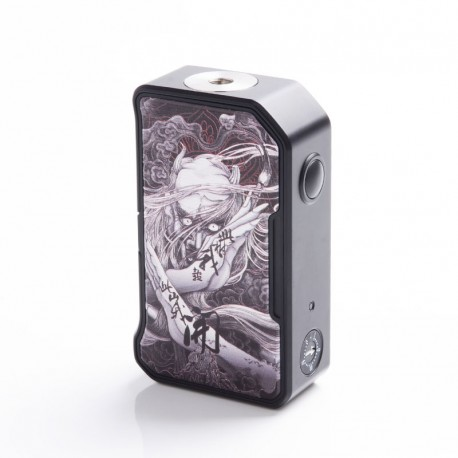 Authentic Dovpo MVV M VV II 280W VV Variable Voltage Box Mod - White Devil, PC + Zinc Alloy, 1~8V, 2 x 18650