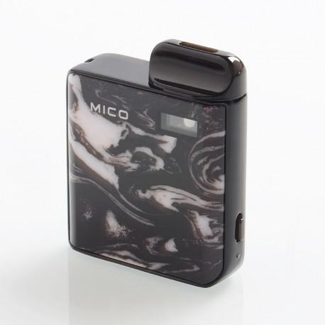 Authentic SMOKTech SMOK Mico 26W 700mAh Pod System Starter Kit - Prism Black, 1.7ml, 0.8ohm / 1.0ohm
