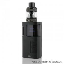 Authentic KangerTech Ripple Kit 200W TC VV Box Mod w/ Sub Ohm Tank - Black, Zinc Alloy, 10~200W, 2 x 18650