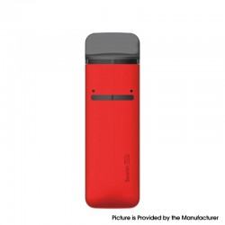 Authentic Suorin Trio 16W 850mAh Pod System Starter Kit - Red, Aluminum Alloy + PC, 1ml / 3ml