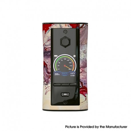 Authentic Pioneer4You IPV V-IT 200W TC VW Variable Wattage Box Mod with YIHI SX540 Chip - Rhapsody, 5~200W, 2 x 18650