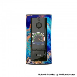 Authentic Pioneer4You IPV V-IT 200W TC VW Variable Wattage Box Mod with YIHI SX540 Chip - Bluesy, 5~200W, 2 x 18650
