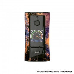 Authentic Pioneer4You IPV V-IT 200W TC VW Variable Wattage Box Mod with YIHI SX540 Chip - Odyssey, 5~200W, 2 x 21700