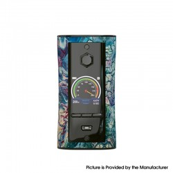Authentic Pioneer4You IPV V-IT 200W TC VW Variable Wattage Box Mod with YIHI SX540 Chip - Fantasy, 5~200W, 2 x 21700
