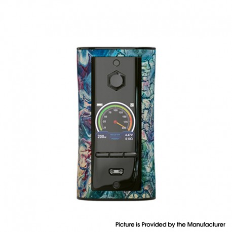 Authentic Pioneer4You IPV V-IT 200W TC VW Variable Wattage Box Mod with YIHI SX540 Chip - Fantasy, 5~200W, 2 x 18650
