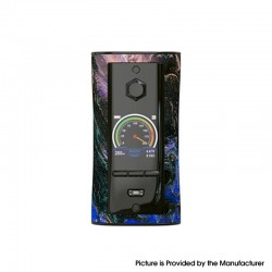 Authentic Pioneer4You IPV V-IT 200W TC VW Variable Wattage Box Mod with YIHI SX540 Chip - Galaxy, 5~200W, 2 x 18650