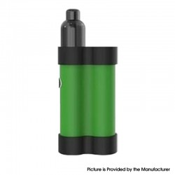 Authentic Gas Mods Mars 15W 750mAh Pod System Starter Kit - Green, Metal + Plastic, 2ml, 1.5ohm / 1.8ohm