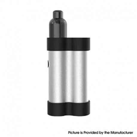 Authentic Gas Mods Mars 15W 750mAh Pod System Starter Kit - Silver, Metal + Plastic, 2ml, 1.5ohm / 1.8ohm