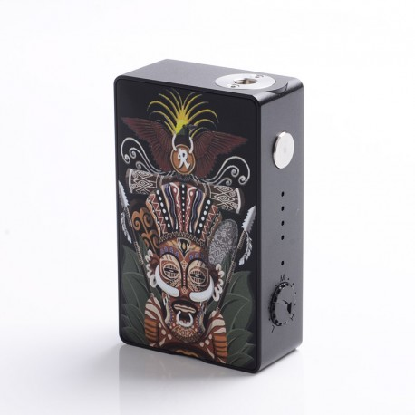 Authentic Hippopvape VIVA 245W VW Variable Wattage Box Mod - Black, Zinc Alloy, 10~245W, 2 x 18650