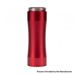 Authentic Timesvape Dreamer Mechanical Mech Mod Extend Stacked Tube - Red, Aluminum, 1 x 18650 / 20700 / 21700