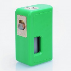 Authentic VGME Mask Bottom Feeder Squonk Mechanical Box Mod - Green, ABS, 8ml, 1 x 18650 / 20700 / 21700