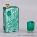 Authentic Ohm Vape AIO 42W Box Mod Pod System Starter Kit - Green, 1 x 18650, Engraved Version