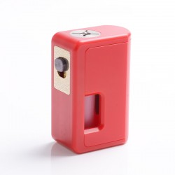 Authentic VGME Mask Bottom Feeder Squonk Mechanical Box Mod - Red, ABS, 8ml, 1 x 18650 / 20700 / 21700