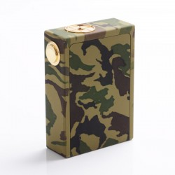 Triple ABS Style Mechanical Box Mod - ArmyGreen, Acrylic, 3 x 18650
