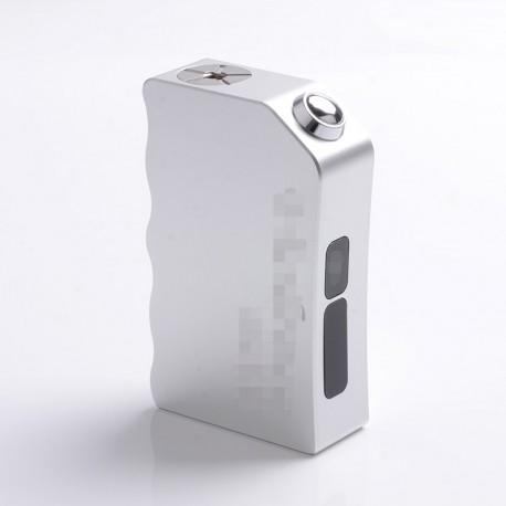 Violence Box Style 280W Mechanical Mod - Silver, Aluminum, 2 x 18650