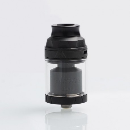 [Ships from Germany] Authentic Augvape Intake Dual RTA Rebuildable Tank Atomizer - Black, 4.2ml / 5.8ml, 26mm Diameter