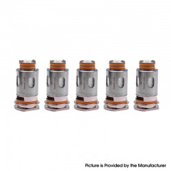 [Ships from HongKong 2] Authentic GeekVape Aegis Replacement Coil for Aegis Boost Kit / Pod - Silver, 0.6ohm (5 PCS)