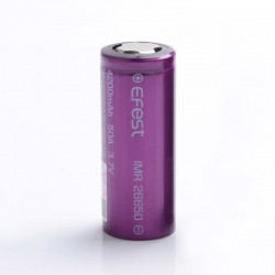[Ships from Battery Warehouse] Authentic Efest IMR 4200mAh 50A 26650 Rechargeable Lithium Battery for Mod / Mod Kit - (1 PC)