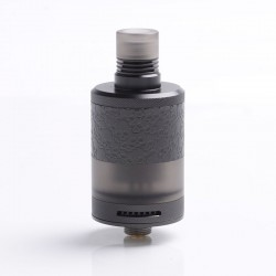 Authentic Fumytech Bdvape Precisio MTL / Middle MDL RTA Tank Atomizer - Dark Night, SS, 2.7ml, 22mm Diameter, Limited Edition