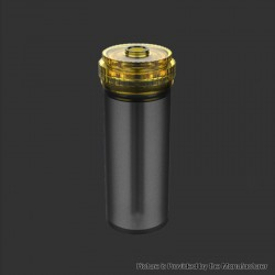 Authentic Fumytech Replacement Bottom Feeder Juice Bottle 1.5 for BDvape Pure BF Squonk Box Mod - Black, Silicone, 8ml
