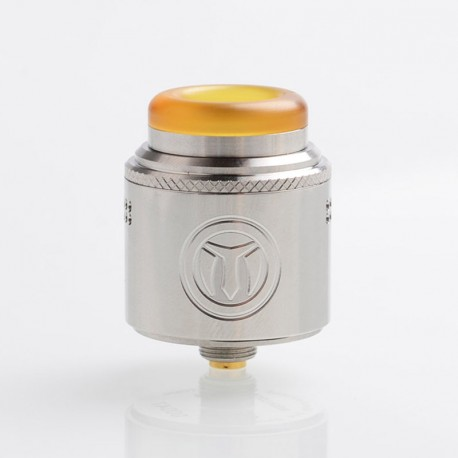 Authentic Yachtvape Meshlock RDA Rebuildable Dripping Atomizer w/ BF Pin - Silver, Stainless Steel, 24mm Diameter