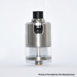 BF-99 BF99 Style MTL RDTA Rebuildable Dripping Tank Atomizer - Silver, 316 Stainless Steel + PC, 2.5ml, 22mm Diameter