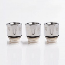 Authentic Hellvape H7-03 Replacement Quad OCC Coil Head for Fat Rabbit Sub-Ohm Tank Atomizer - Silver, 0.15ohm (3 PCS)
