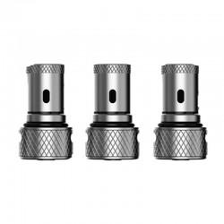 Authentic Hellvape GRIMM Pod / Pod Kit Repalcement H3-01 Mesh Coil Head - Silver, 0.7ohm (3 PCS)