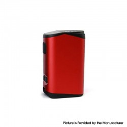Authentic Teslacigs T40W 2000mAh VW Variable Wattage Vape Box Mod - Red, Aluminum Alloy + Plastic, 5~40W