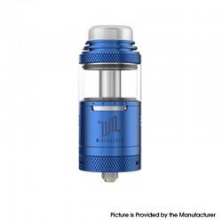 Authentic Vandy Vape Widowmaker RTA Rebuildable Vape Tank Atomizer - Blue, Stainless Steel + Glass, 6ml, 25mm Diameter