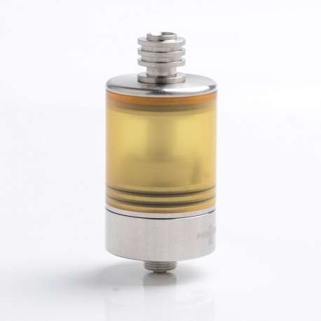 SXK HOLY Patibulum Style MTL RTA Rebuildable Tank Atomizer - Silver, 316 Stainless Steel + PEI, 3.5ml, 22mm Diameter