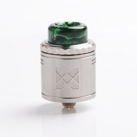 Authentic Vandy Vape Mesh V2 RDA Rebuildable Dripping Atomizer - SS, Stainless Steel, 0.12ohm / 0.15ohm, 25mm Diameter