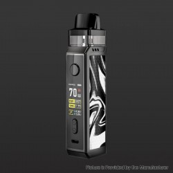 [Ships from HongKong] Authentic Voopoo VINCI X VW Box Mod Pod System Starter Kit - Ink, 5.5ml, 0.3ohm / 0.6ohm, 5~70W, 1 x 18650