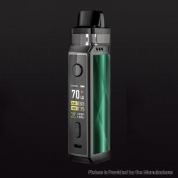 [Ships from HongKong] Authentic Voopoo VINCI X VW Box Mod Pod System Starter Kit - Drazzling Green, 0.3/0.6ohm, 5~70W, 1 x 18650