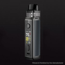 [Ships from HongKong] Authentic Voopoo VINCI X VW Box Mod Pod System Starter Kit - Space Gray, 0.3ohm / 0.6ohm, 5~70W, 1 x 18650