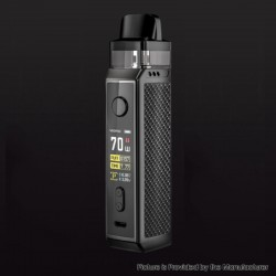 [Ships from HongKong] Authentic Voopoo VINCI X VW Box Mod Pod System Starter Kit - Carbon Fiber, 0.3ohm/0.6ohm, 5~70W, 1x 18650